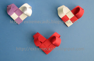 woven paper hearts