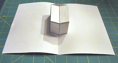 square box pop up card