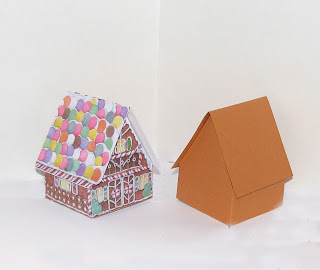 pop up gingerbread house