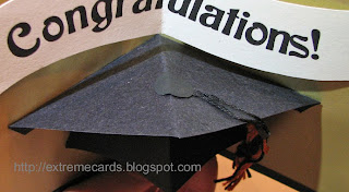 graduation pop up card