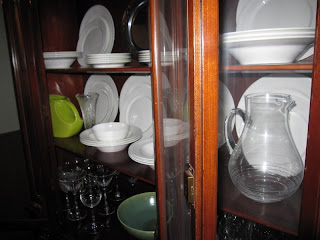 China Cabinet filled up and orgainized