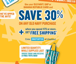 old Navy Stuff and save 2009 30% off