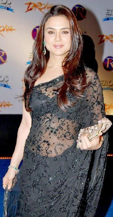 Scandals Bollywood Actress Preity Zinta In Transparent -6847