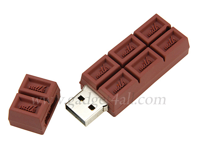 crazy design chocolate bar usb flash drive stylish hot site. Black Bedroom Furniture Sets. Home Design Ideas
