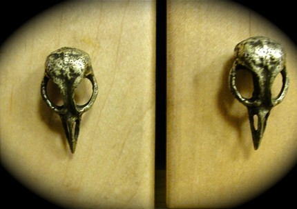Jewelrybysimin Bird Skull Cabinet Hardware Skull Drawer Knobs