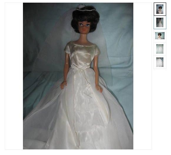 03e9643ff5 Barbies antigua con vestido de novia se vende en más de 18 mil dólares en  eBay
