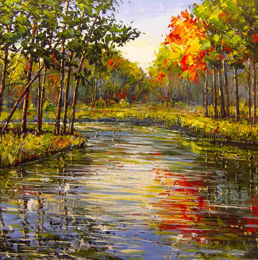 Image Result For Acrylic Canvas Paintings Of Scenery