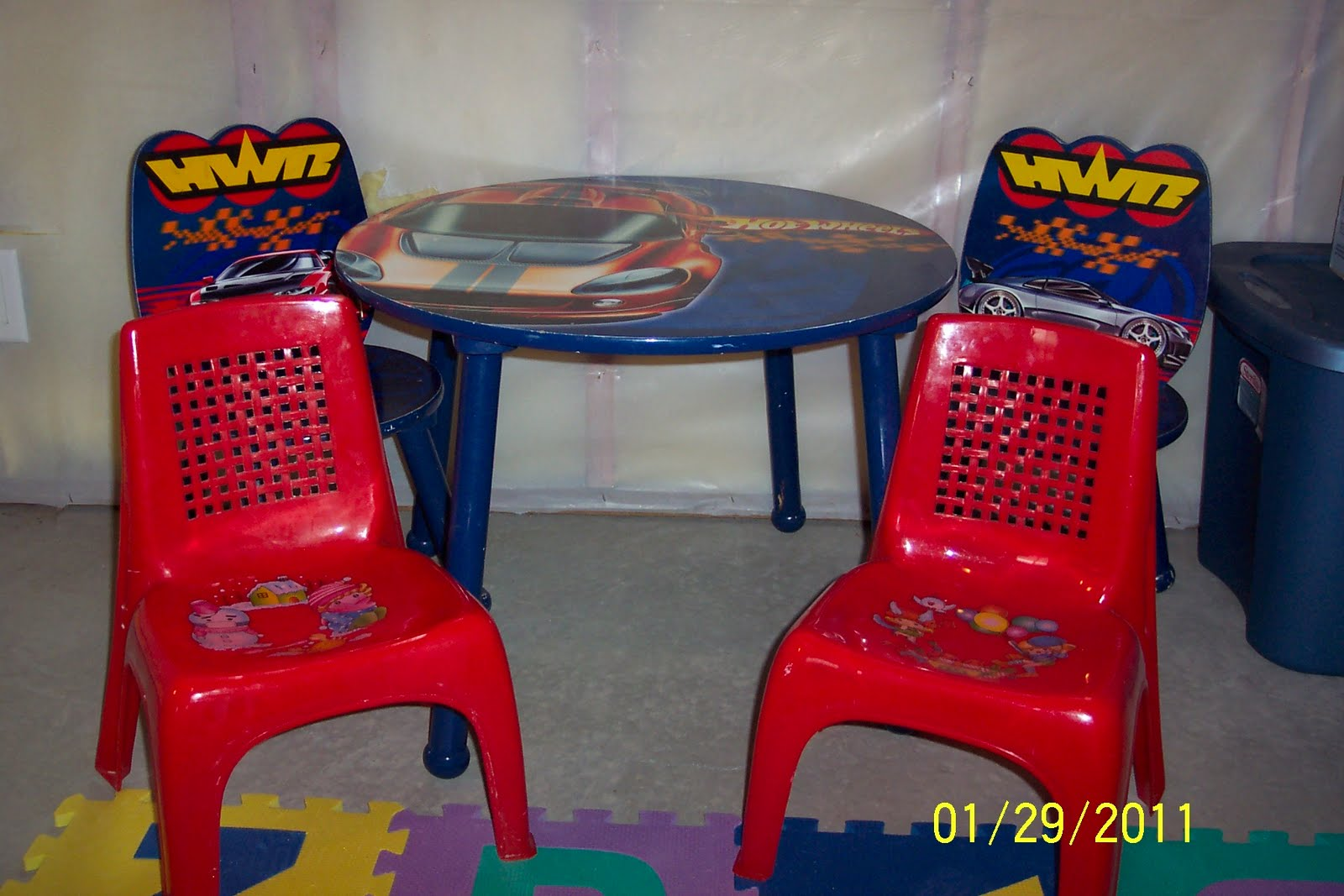 wheelchair hot wheels wedding chair rentals cheap cleaning out our closets kids table and chairs
