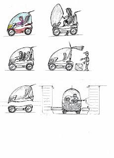 ag2050 concept global mobilit electrique structure du vehicule concept ag2050. Black Bedroom Furniture Sets. Home Design Ideas