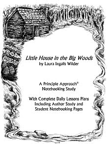 4r press little house in the big woods notebooking study for Laura ingalls wilder coloring pages