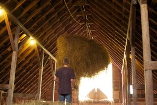 Littlefield Farm Web Log Loading Up The Barn