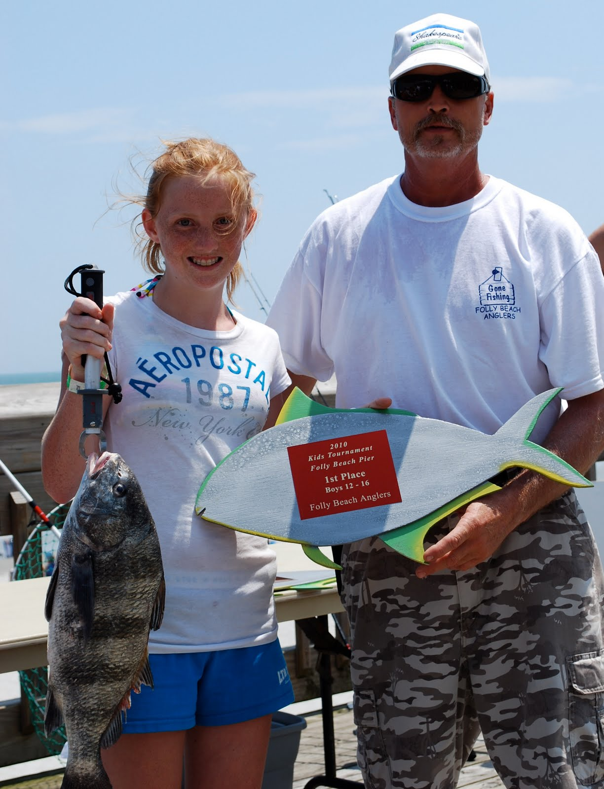 Lowcountry outdoors: Folly Pier - Kids Fishing Day