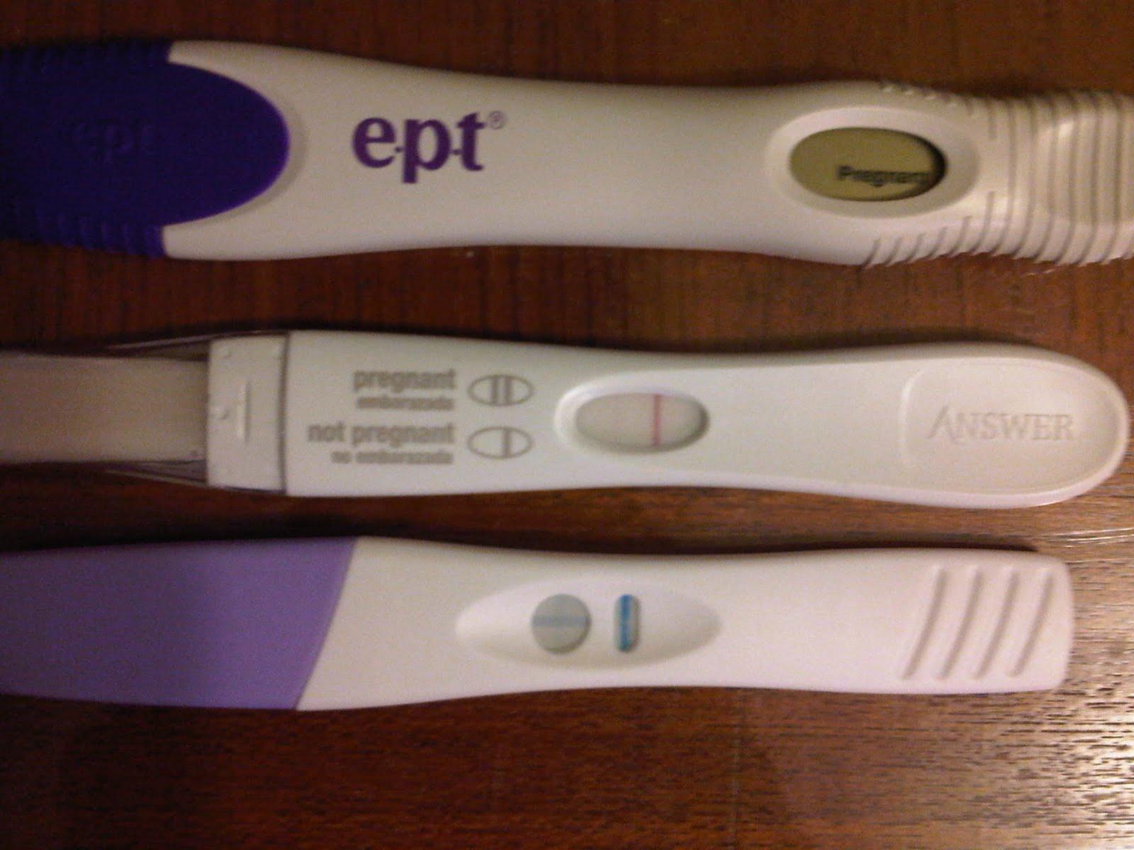 Clear Blue Pregnancy Test Results Faint Line