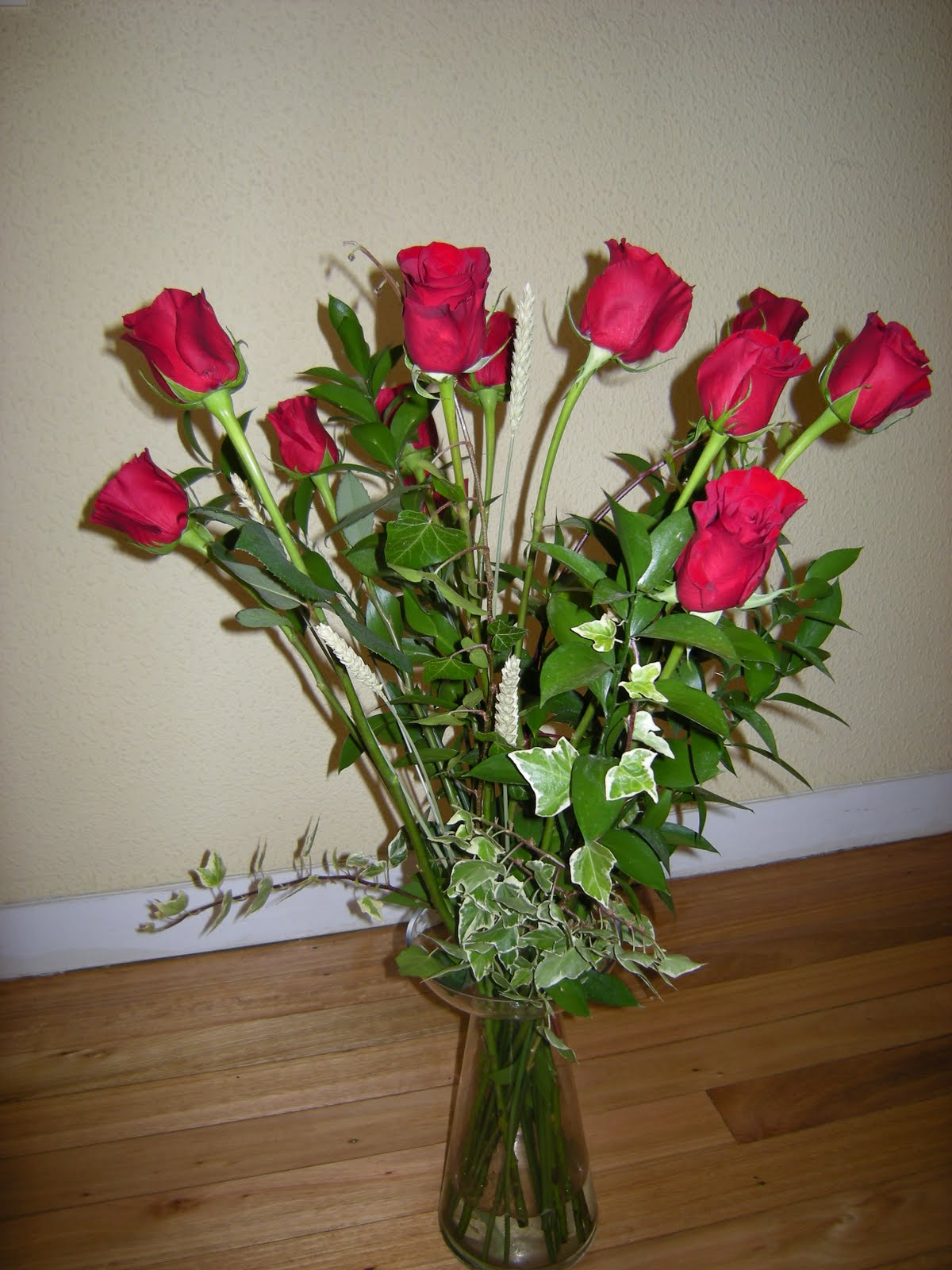 Flores Naturales Ramo De Rosas