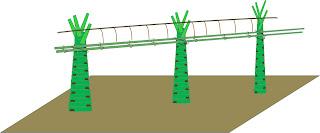 Jembatanisasi kebun Aren