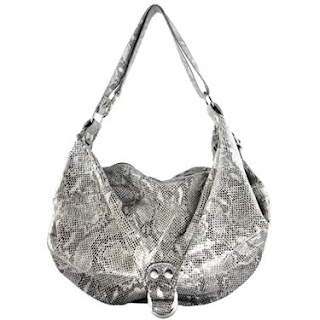 Meet The Sofita Snake A Embossed Hobo Bag With Buckle Detail And Adjule Shoulder Or Cross Body Strap Smaller Version Of Oversized Sofi