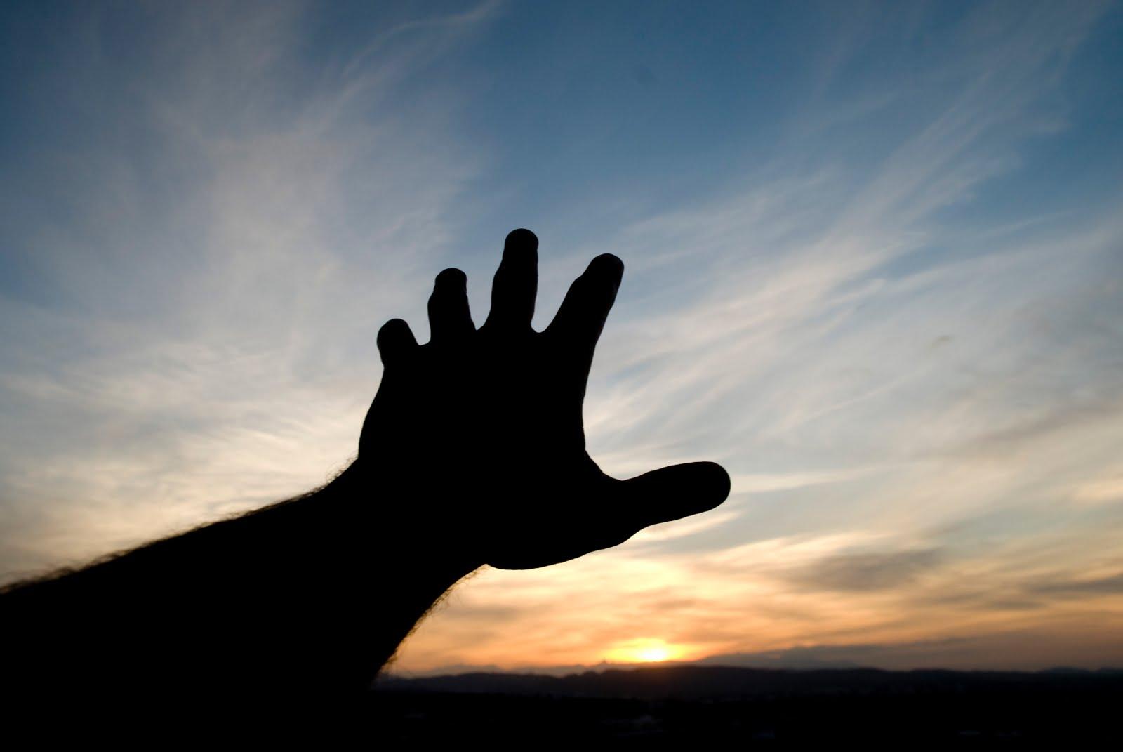 Hands Reaching Goal