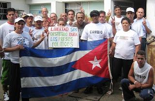 Opositor Cubano: Vigilia por la libertad de los presos políticos cubanos.