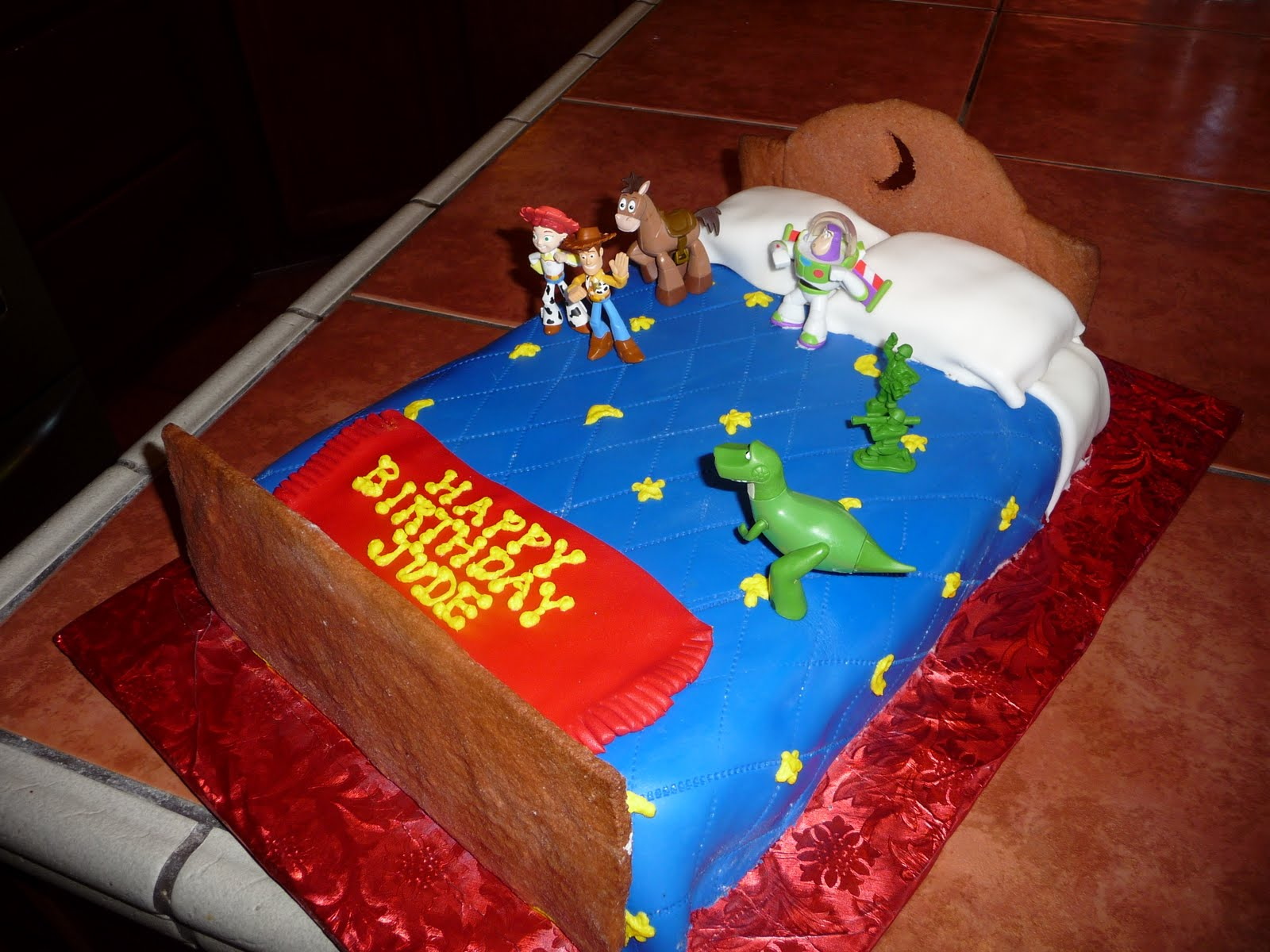 Dreaming In Buttercream Toy Story Cake