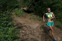 Brandy Erholtz Barr Trail Mountain Race