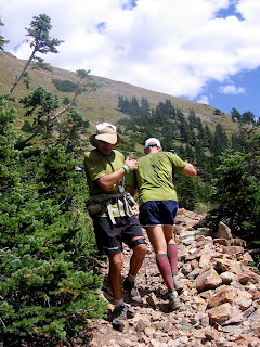 Larry Hall Bryon Powell Leadville 100 mile run