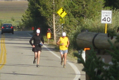 Leadville 100 mile 2009 Garett Graubins Bob Sweeney Fish Hatchery
