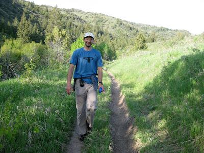Jared Campbell Pocatello 50 mile