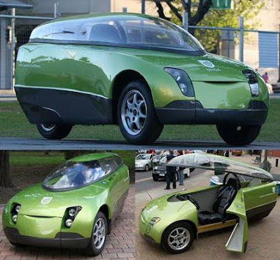 Students And Staff At The University Of South Australia Designed Built This Green Bubblecar