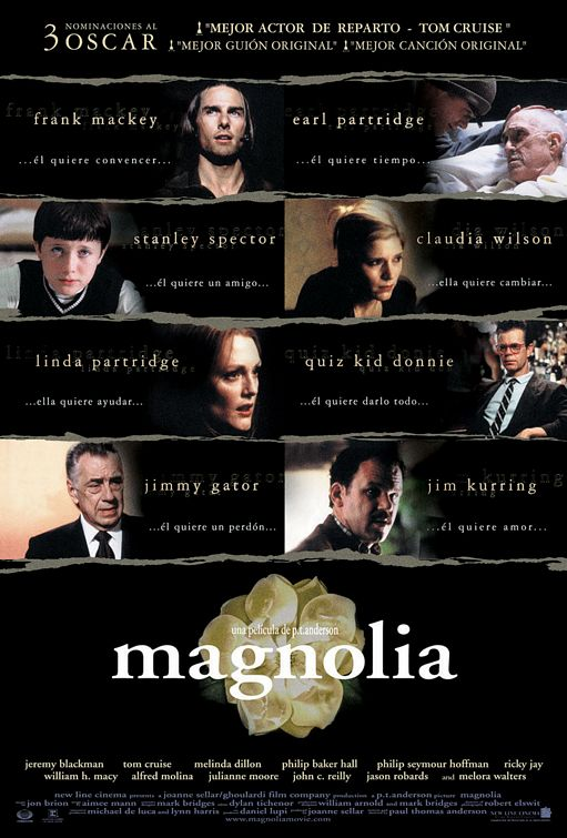 An analysis of the movie magnolia by paul thomas anderson