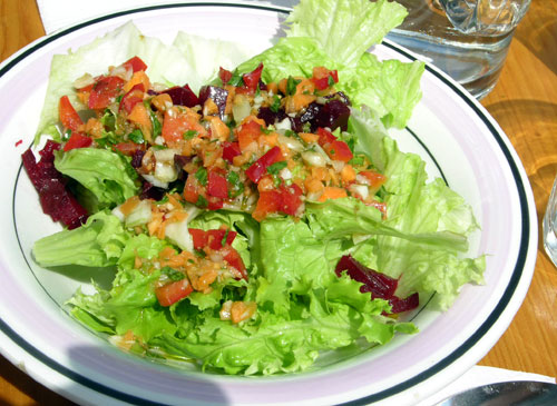 ensaladas verdes sencillas - photo #17