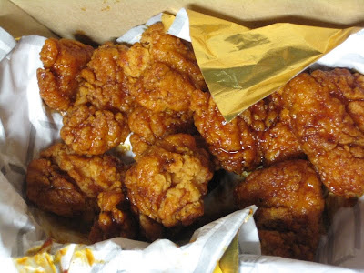 Pizza Hut Cajun Wings in Box