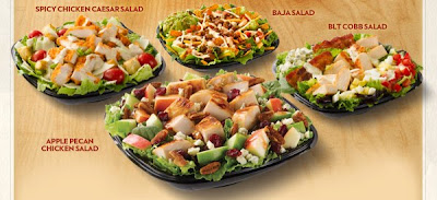 Wendy's Premium Salads Test