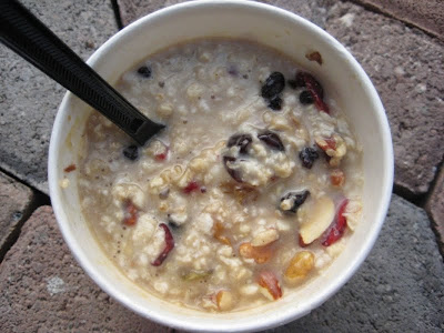 Starbucks Perfect Oatmeal all mixed up