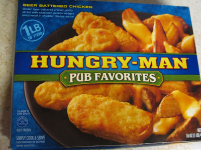 Hungry-Man Beef Battered Chicken in box