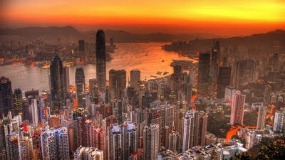 Hong Kong skyline. Image by slack12 under Creative Commons Licence
