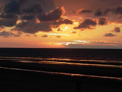 Malo-les-Bains coucher de soleil par pierre-yves gires