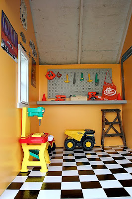 Cutest Little Things A Little Boy S Playhouse Revealed