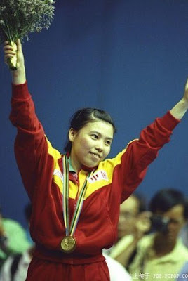 Barcelona 1992 - Deng Yaping, campeona individual en tenis de mesa