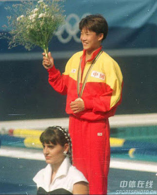 Barcelona 1992 - Fu Mingxia, campeona en salto de plataforma