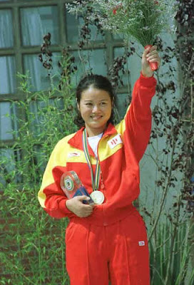 Barcelona 1992 - Zhang Shan, oro en skeet