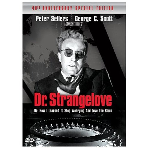 Regarding Actors Kubrick Meant What He Said: Film Thoughts: Dr. Strangelove