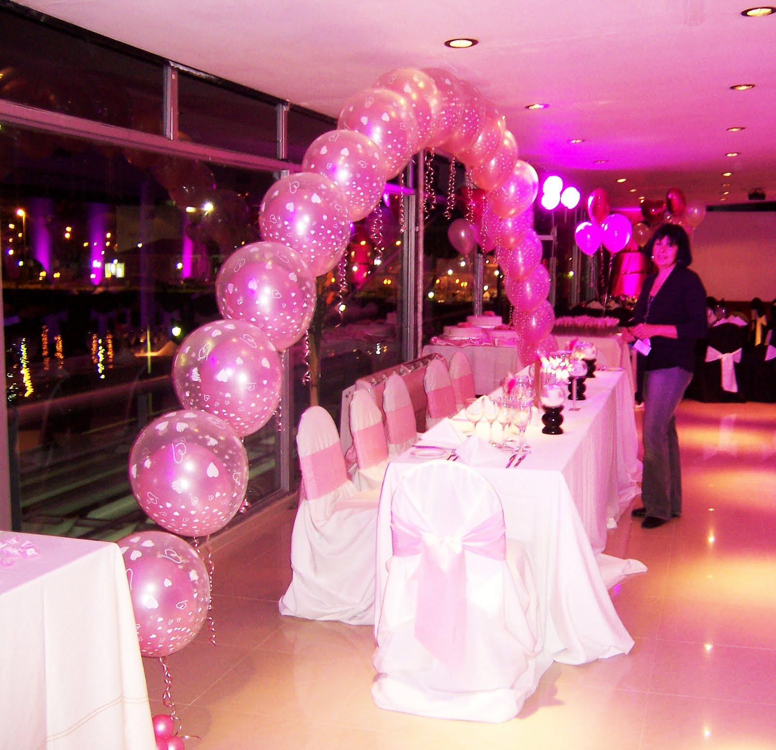 Selva luz decoraci n con globos buenos aires argentina for Decoracion de pared para quinceanera