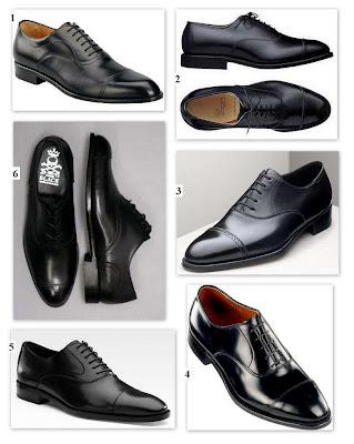 The Standard – Black Cap Toe