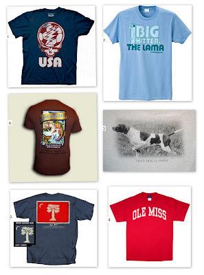 Some Summer T-shirt Ideas
