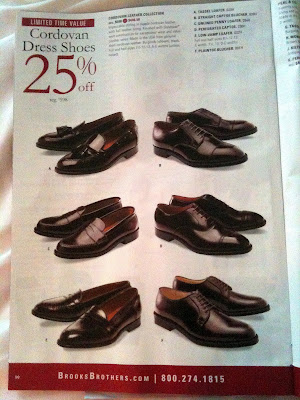 FYI: Brooks Brothers Shell Cordovan Sale