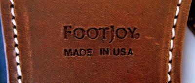Refurbished Footjoys – Follow Up