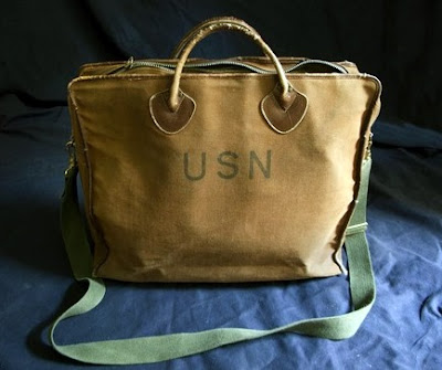 WWII Naval Officers Bag