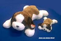 TY Yodel Saint Bernard X large plush stuffed animal