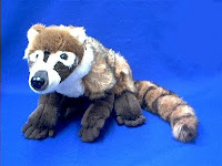 coatimundi plush stuffed animal toy