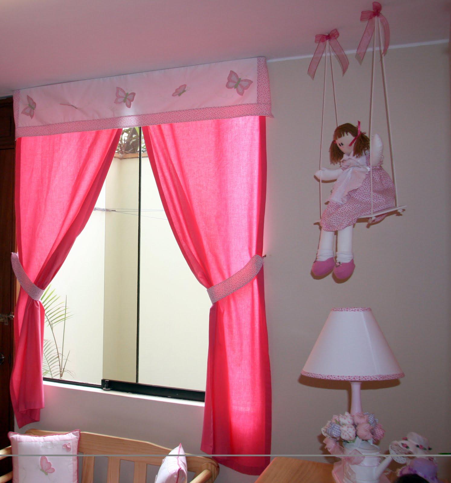 Cortinas Para Bebes Nia Ideas Para Decorar Para Bebe Nia With - Cortinas-dormitorio-nia